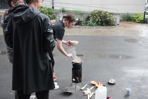 Fire Soup Cooking at Köttinspektionen 2019