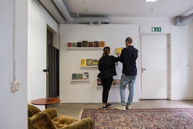 The Political Beekeeper's Library at Köttinspektionen 2019