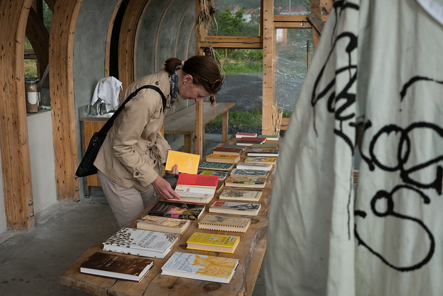The Political Beekeeper's Library at Losaeter 2017
